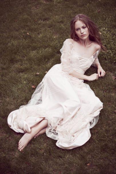 Delphine Manivet - robes de mariée - Collection 2016 - Modele Joshua - 6200€ - A découvrir sur le blog mariage La mariée aux pieds nus