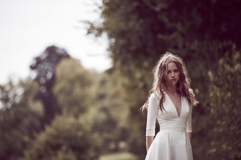 Delphine Manivet - robes de mariée - Collection 2016 - Modele Prospere - 2600€ - A découvrir sur le blog mariage La mariée aux pieds nus