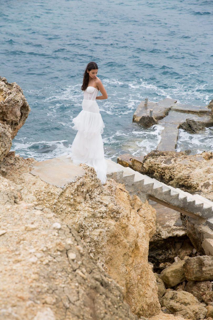 Diane de Malherbe - Robes de mariée - Collection 2022 - Blog mariage : La mariée aux pieds nus