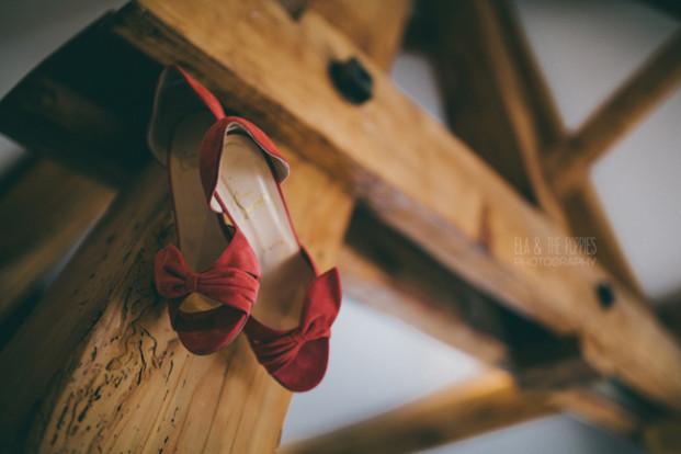 Ela and the poppies - Un mariage en corail - La mariee aux pieds nus