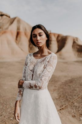 Eleonore Pauc - Robes de mariée - Collection 2019 - Photos : Yoris Photographe - Blog mariage : La mariée aux pieds nus