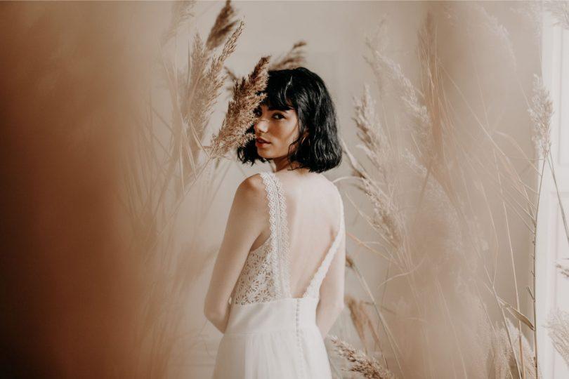 Eleonore Pauc - Robes de mariée - Collection 2020 - Photos : Yoris Photographe - Blog mariage : La mariée aux pieds nus