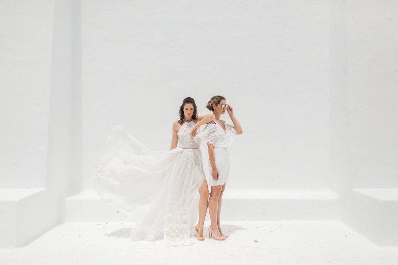 Elisa Ness - Robes de mariée - Collection 2019 - Photos : Fabien Courmont - Blog mariage : La mariée aux pieds nus