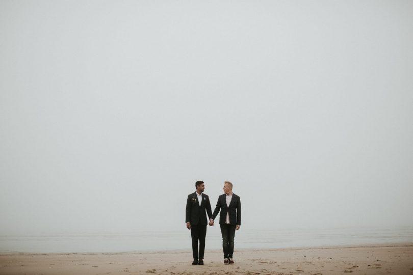 Un elopement en Normandie - Photos : Aurélien Bretonnière - Blog mariage : La mariée aux pieds nus