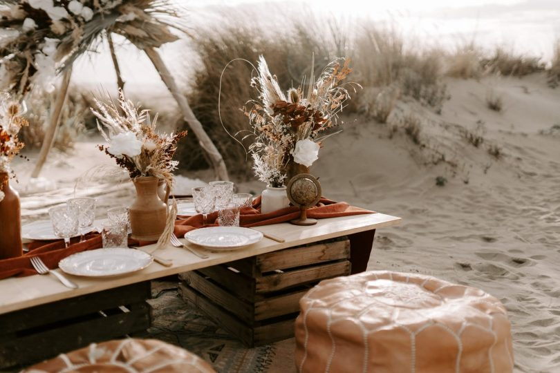 Un elopement sur la plage - Photos : Bel Esprit - Blog mariage : La mariée aux pieds nus
