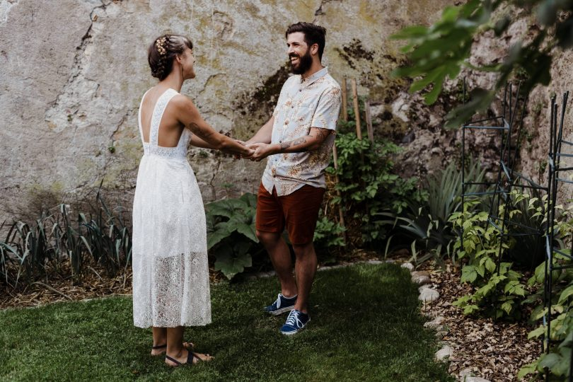Un elopement en toute simplicité en Suisse - Photos : Capyture - Blog mariage : La mariée aux pieds nus