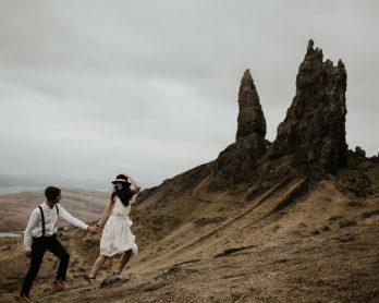 Une séance engagement en écosse - Aurélien Bretonnière - La mariée aux pieds nus