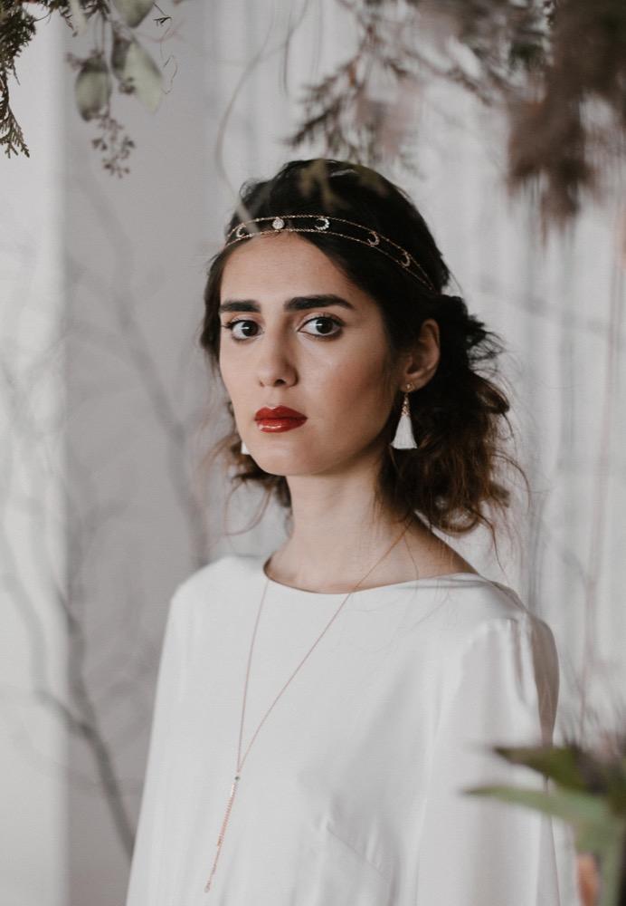 Eugénie Bee - Accessoires de mariée - A découvrir sur le blog www.lamarieeauxpiedsnus.com