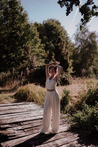 Fabryka - Robes de mariée - Collection 2021 - Photos : Lika Banshoya - Blog mariage : La mariée aux pieds nus