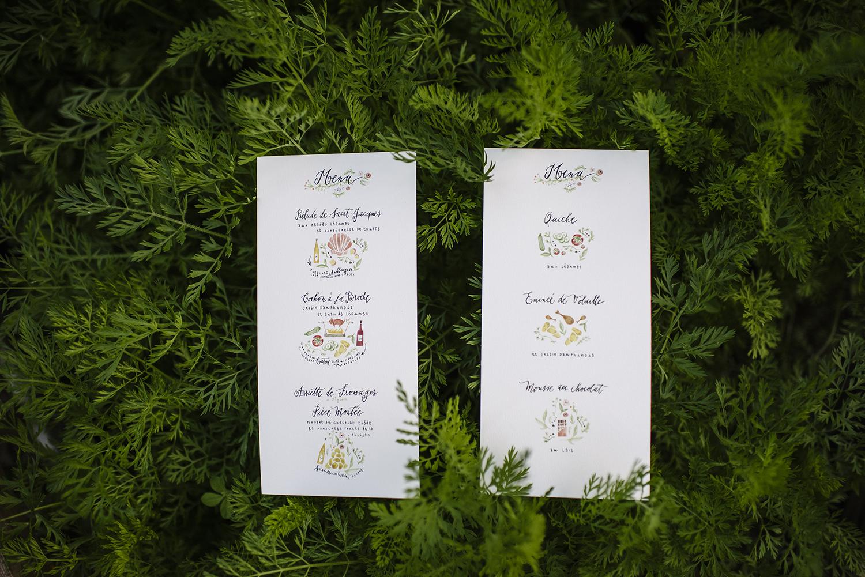 Fanny Calligraphie - Calligraphe de mariage - Blog mariage La mariée aux pieds nus