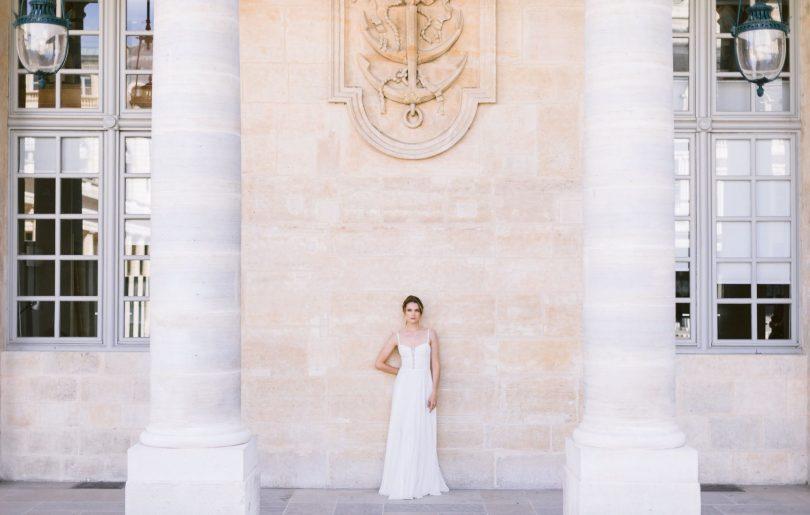 Fanny Sathoud - Robes de mariée - Collection 2021 - Photos : Milo Photographie - Blog mariage : La mariée aux pieds nus