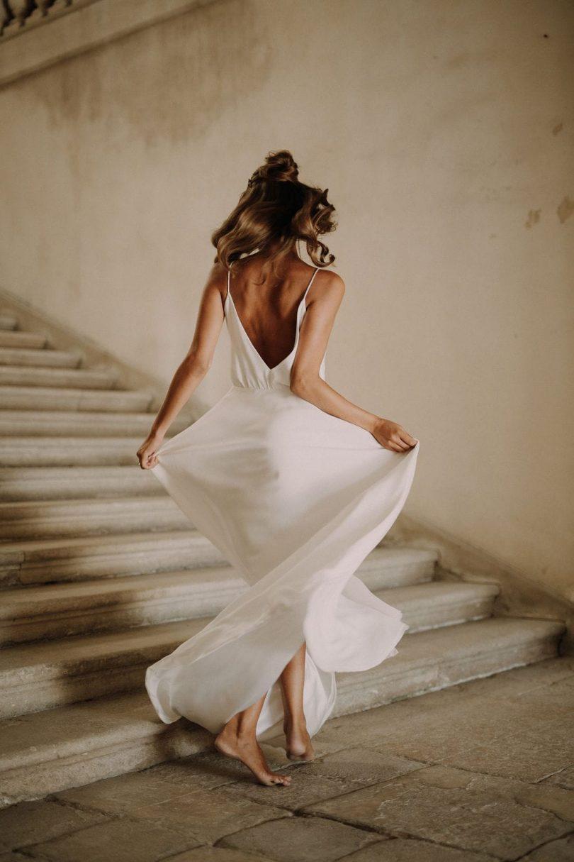 Fanny Sathoud - Robes de mariée - Collection 2020 - Blog mariage : La mariée aux pieds nus