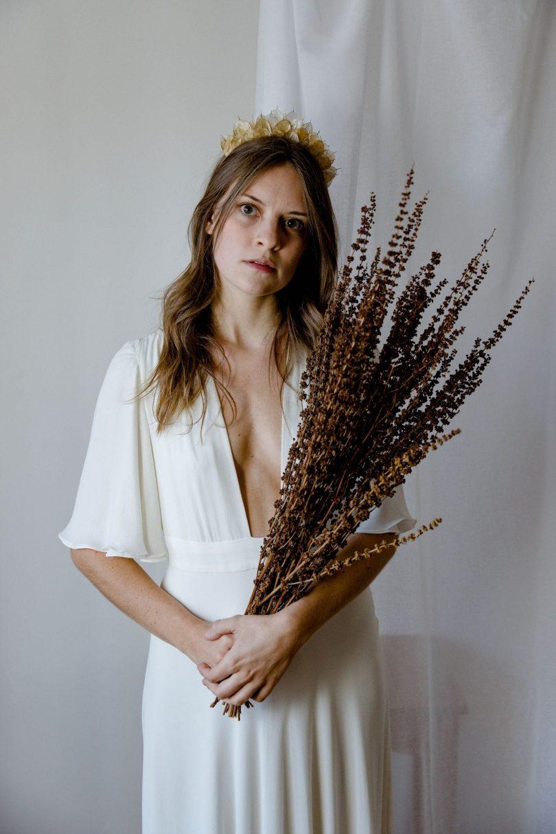 Folie Douce - Accessoires de mariée fleuris - Blog mariage : La mariée aux pieds nus