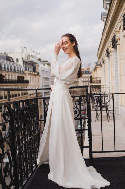 Donatelle Godart x Héloïse et Abélard - collab mariée - Blog mariage : La mariée aux pieds nus