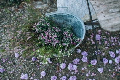 Ingrid Lepan - Un mariage champêtre près de Cannes - La mariee aux pieds nus