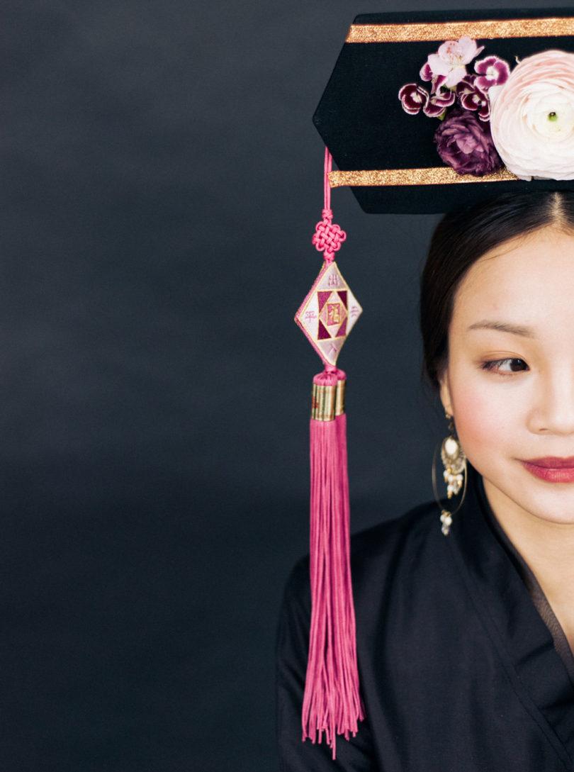 Une mariée inspirée par les traditions de Chine ancienne - A découvrir sur le blog mariage www.lamarieeauxpiedsnus.com - Photos : Céline Chhuon