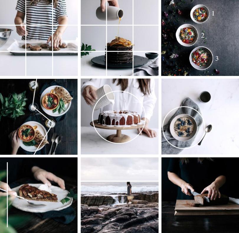 Vos images sur Instagram - Quelques règles de composition - La mariée aux pieds nus