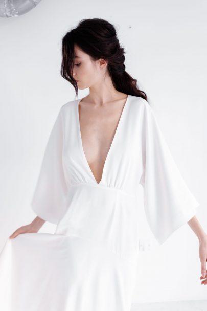Jeannette - accessoires de mariée - Collection 2020 - Blog mariage : La mariée aux pieds nus