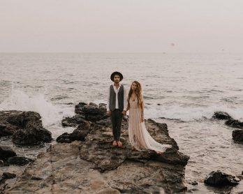 Une séance engagement à Goa en Inde - Photos : Julien Navarre - Blog mariage : La mariée aux pieds nus