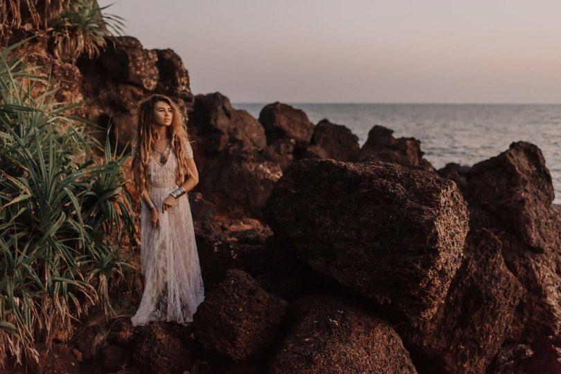 Une séance photo de couple à Goa en Inde - Photos : Julien Navarre - Blog mariage : La mariée aux pieds nus