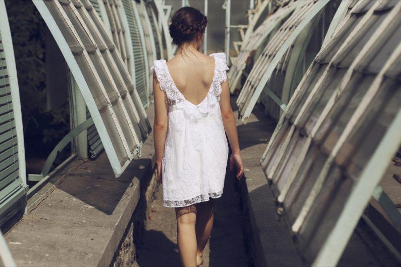 Elodie Michaud - Robes de mariée courtes - Collection 2016 - La mariée aux pieds nus