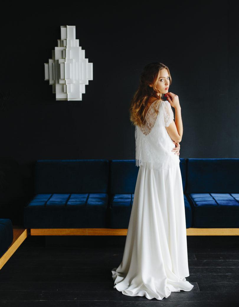 La mariée aux pieds nus - Maison Floret - Robes de mariée - Collection 2017 - Modèle : Barry et Stuart