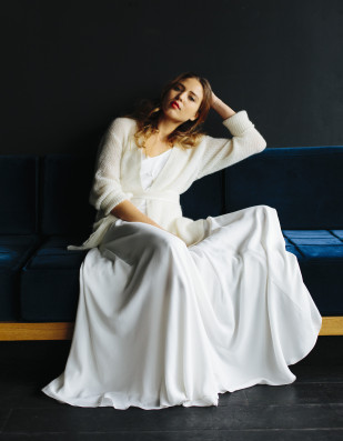 La mariée aux pieds nus - Maison Floret - Robes de mariée - Collection 2017 - Modèle : Nelson