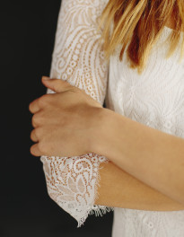 La mariée aux pieds nus - Maison Floret - Robes de mariée - Collection 2017 - Modèle : Harvey