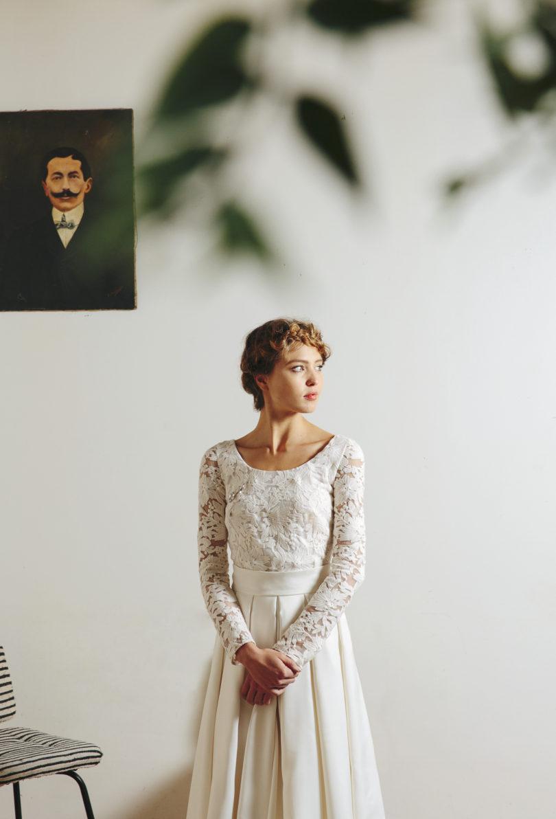 La mariée aux pieds nus - Maison Floret - Robes de mariée - Collection 2017 - Modèle : Henry