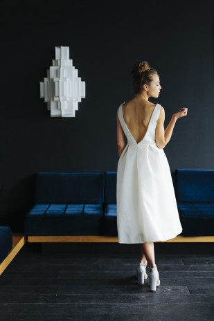 La mariée aux pieds nus - Maison Floret - Robes de mariée - Collection 2017 - Modèle : Kenny