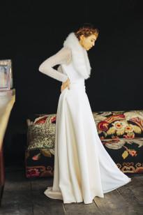 La mariée aux pieds nus - Maison Floret - Robes de mariée - Collection 2017 - Modèle : Lens et Trevor