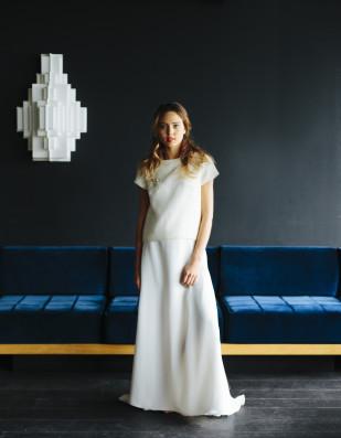 La mariée aux pieds nus - Maison Floret - Robes de mariée - Collection 2017 - Modèle : Malcom et Stuart