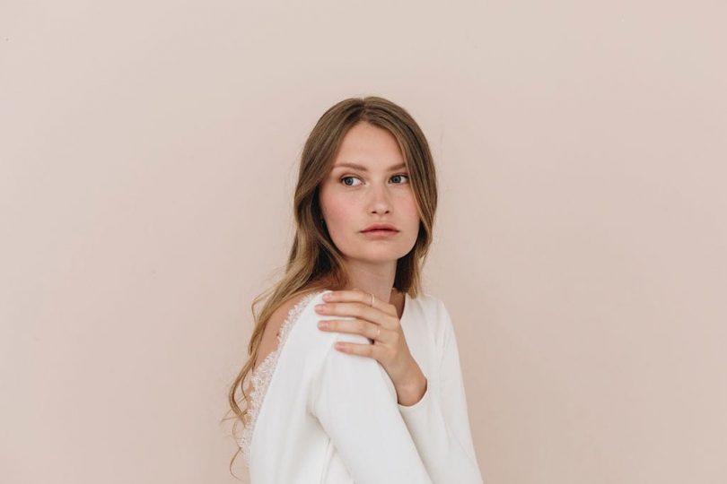 Un maquillage de mariée frais et lumineux - Blog mariage : La mariée aux pieds nus - Photos : Aude Lemaitre - HMUA : Billy and Clyde