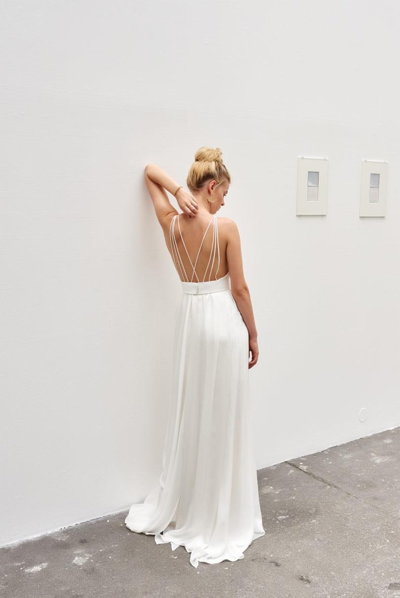 A découvrir sur le blog mariage www.lamarieeauxpiedsnus.com - Camille Marguet - Robes de mariée - Collection 2017 - Modele : Alphe
