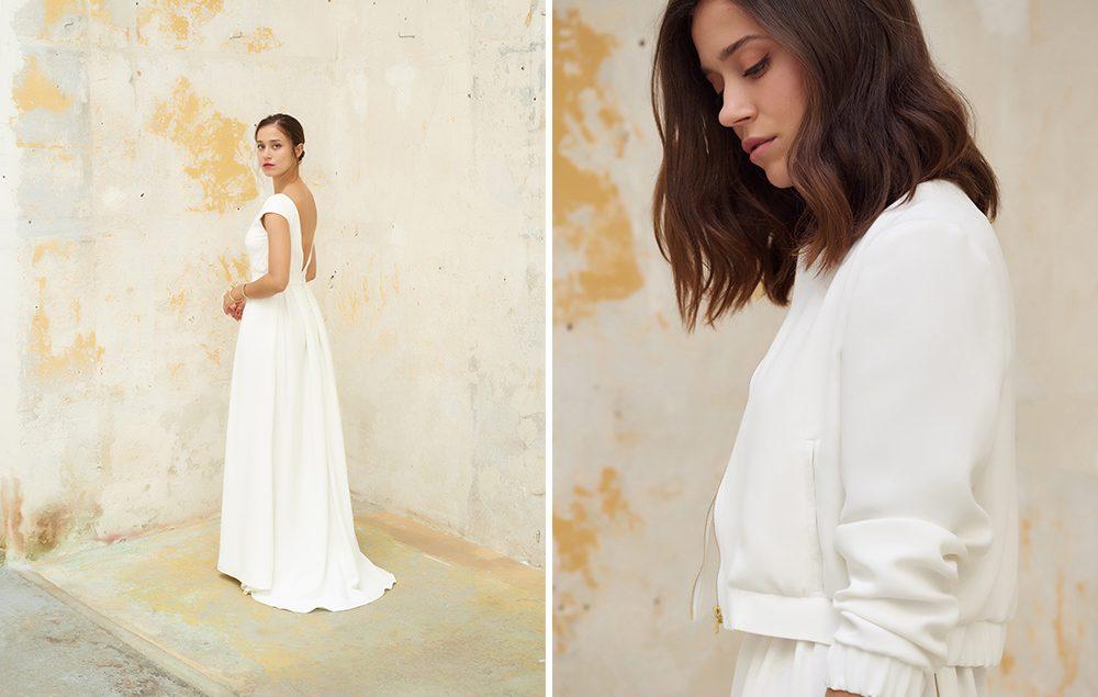 Camille Marguet - Robes de mariée - Collection 2018 - Blog mariage : La mariée aux pieds nus