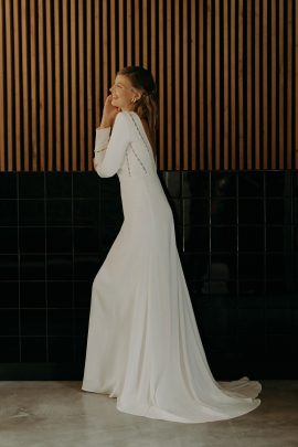 Camille Marguet - Robes de mariée - Collection 2020 - Photos : Baptiste Hauville - Blog mariage : La mariée aux pieds nus