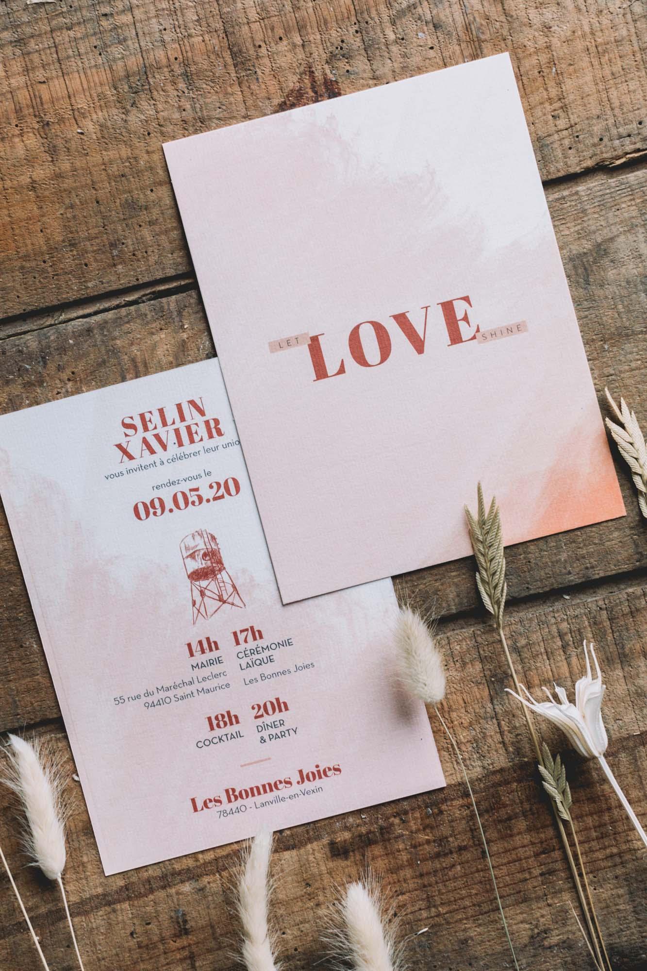 Les bandits : papeterie - Blog mariage : La mariée aux pieds nus.