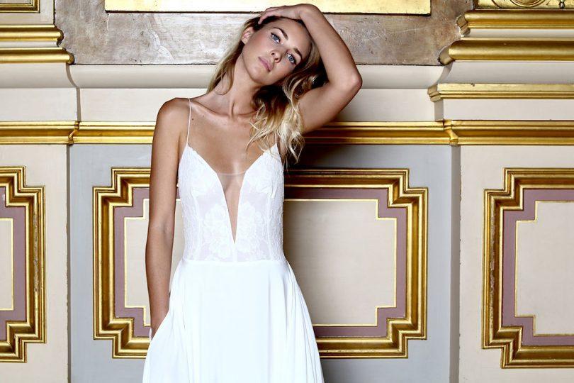 Caroline Takvorian - Robes de mariée - Collection 2019 - La mariée aux pieds nus