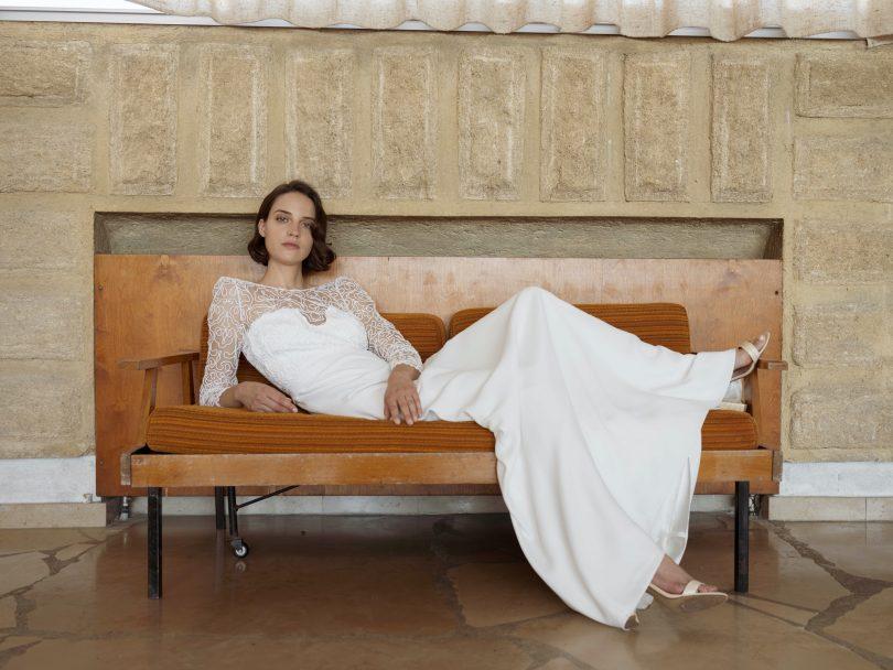 Céline de Monicault : Collection Orée 2021 - Blog mariage : La mariée aux pieds nus.