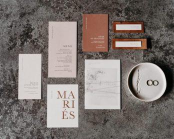 Choisir la papeterie de votre mariage - Crédits photos : Lorenzo Accardi - Blog mariage : La mariée aux pieds nus.