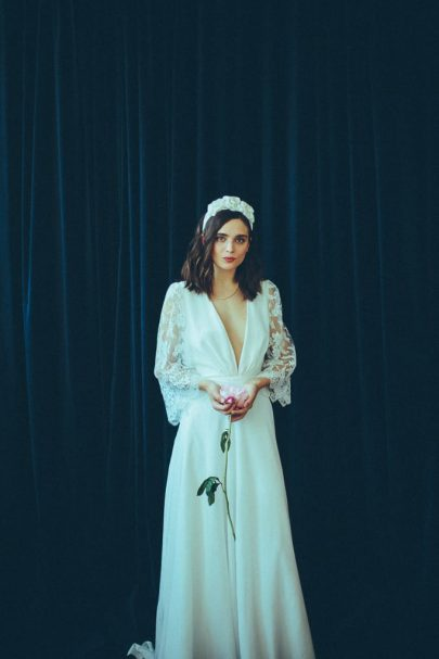 Christina Sfez - Robes de mariée - Collection 2021 - Photos : Martina Matencio - Blog mariage : La mariée aux pieds nus