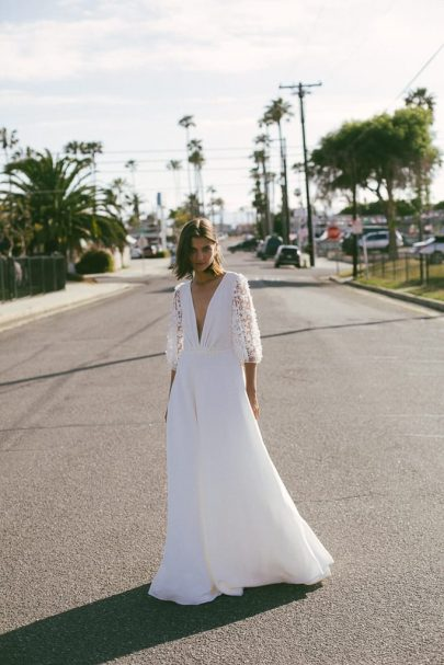 Christina Sfez - Robes de mariée - Collection 2020 - Photos : Martina Matencio - Blog mariage La mariée aux pieds nus