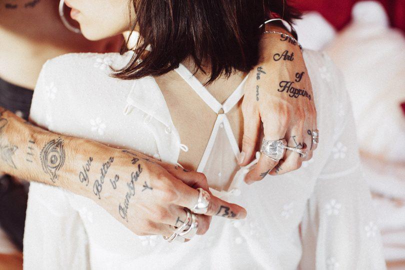 Elise Hameau - Robes de mariée - Collection 2019 - La mariée aux pieds nus