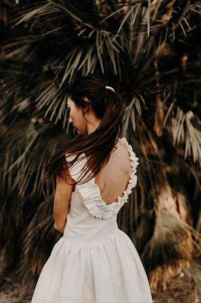 Eleonore Pauc - Robes de mariée - Collection mariage civil 2019 - Photos : Yoris Photographer - Blog mariage : La mariée aux pieds nus