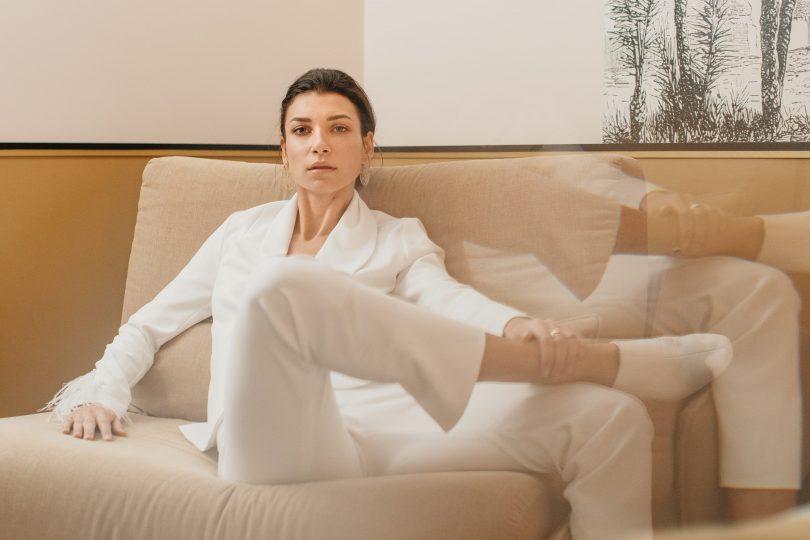 Elisa Ness - Robes de mariée - Collection Mariage civil et brunch 2019 - Photos : Fabien Courmont - Blog mariage : La mariée aux pieds nus