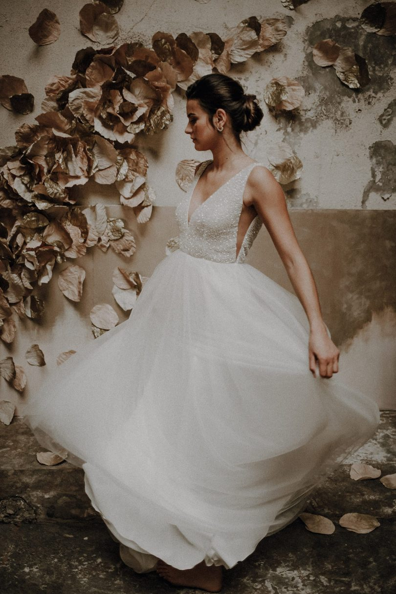 Elise Martimort - Robes de mariée - Collection 2020 - Blog mariage : La mariée aux pieds nus
