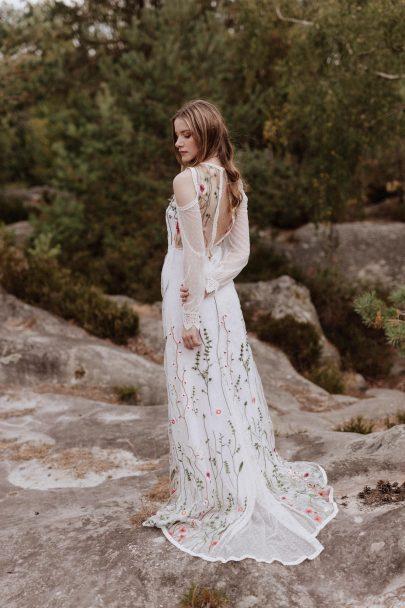 Elodie Courtat - Robes de mariée - Collection 2019 - Photos : Lika Banshoya - La mariée aux pieds nus