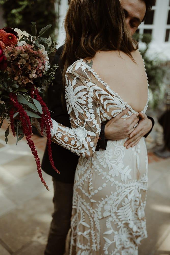 Un elopement au Domaine de Saint Clair à Etretat - Photos : Aurélien Bretonnière - Blog mariage : La mariée aux pieds nus