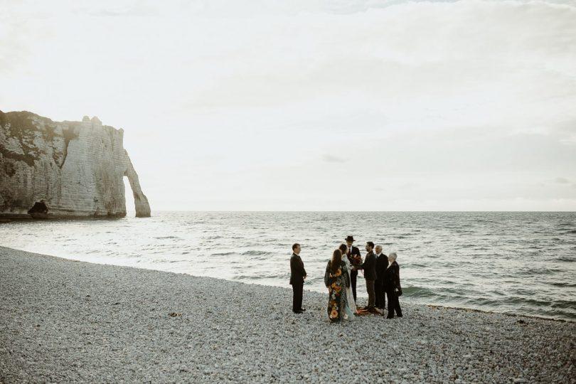 Un elopement au Domaine de Saint Clair à Etretat