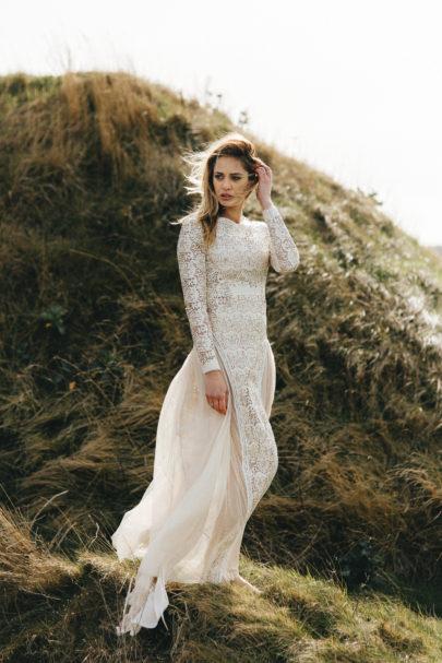 Elisa Ness - Robes de mariée - Collection capsule Automne Hiver 2017 - A découvrir sur le blog www.lamarieeauxpiedsnus.com - Photos : Fabien Courmont